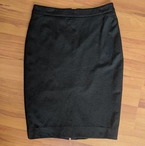 4/$20 Le Chateau Black Pencil Skirt